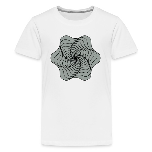infinity black - Kids' Premium T-Shirt