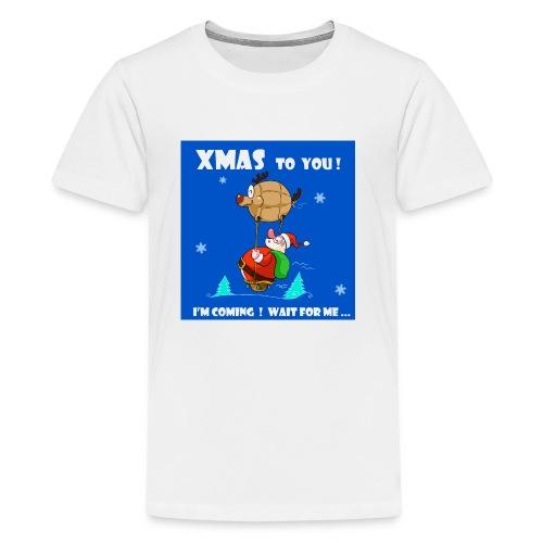 xmas funny tee shirt - Kids' Premium T-Shirt