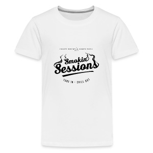 Smokin' Sessions (White) - Kids' Premium T-Shirt