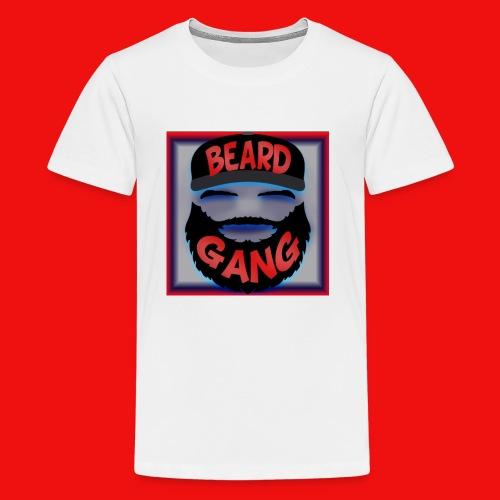 Beard Gang Line - Kids' Premium T-Shirt