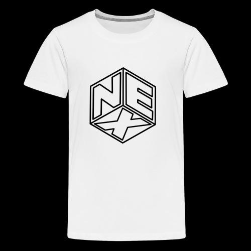Nexagonal Logo (White_ - Kids' Premium T-Shirt