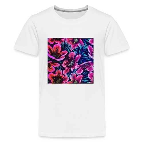 flowers - Kids' Premium T-Shirt