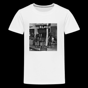 Blak- on the boulevard - Kids' Premium T-Shirt