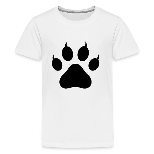 Cat Pawprint - Kids' Premium T-Shirt
