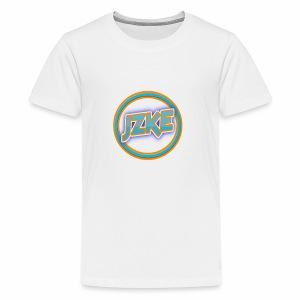 Jzke retro logo - Kids' Premium T-Shirt