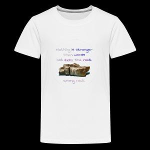 Wrong Rock - Kids' Premium T-Shirt