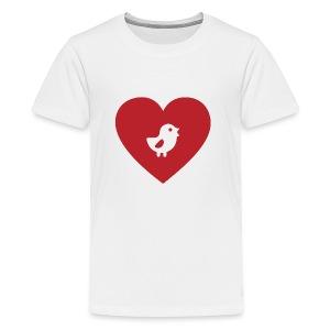 Heart Chick - Kids' Premium T-Shirt