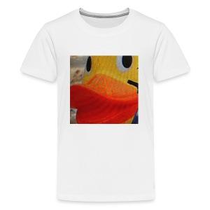 Retro Hippoduck Logo - Kids' Premium T-Shirt