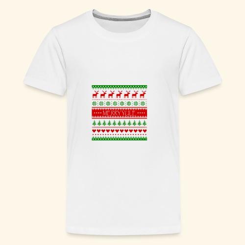 merry yule - Kids' Premium T-Shirt