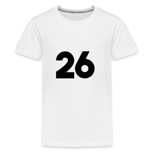 Main 26 logo - Kids' Premium T-Shirt