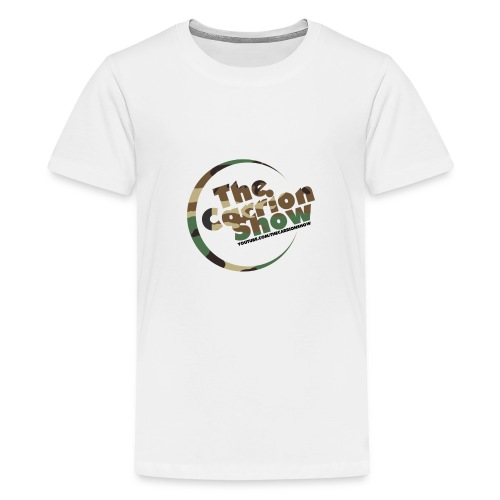 Camo logo Design - Kids' Premium T-Shirt
