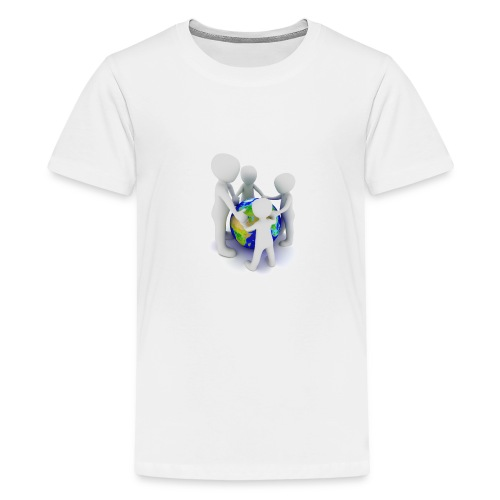 Save The Earth Presnt for all - Kids' Premium T-Shirt
