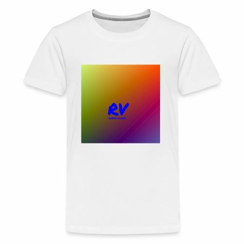 Robsu Vlogs shirt - Kids' Premium T-Shirt