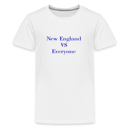 new england vs everyone light shirt - Kids' Premium T-Shirt