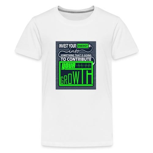 Energy Invest - Kids' Premium T-Shirt
