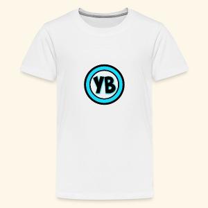 YB LOGO - Kids' Premium T-Shirt