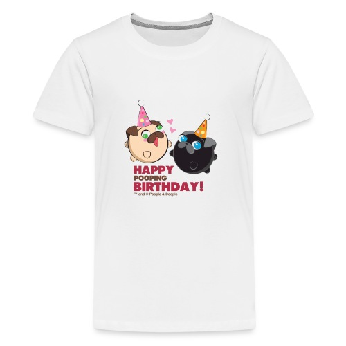 Poopie And Doopie Birthday! - Kids' Premium T-Shirt