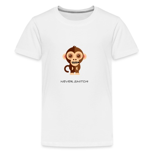 never snitch .... - T-shirt premium pour ados