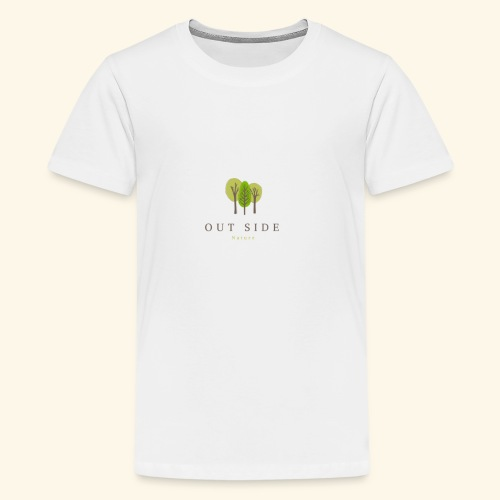 Out Side Nature - Kids' Premium T-Shirt
