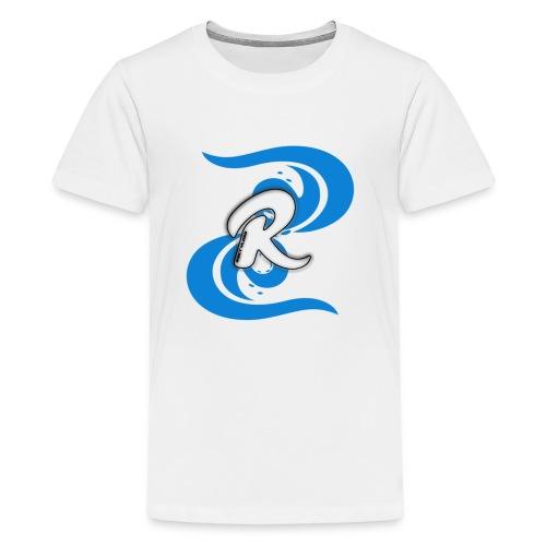 Icey Blue R3KT Vlogs Design - Kids' Premium T-Shirt