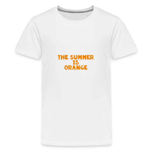 The Summer Is Orange Limited Time - Kids' Premium T-Shirt