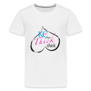 Kc thick chick - Kids' Premium T-Shirt