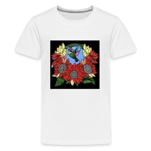 Florals - Kids' Premium T-Shirt