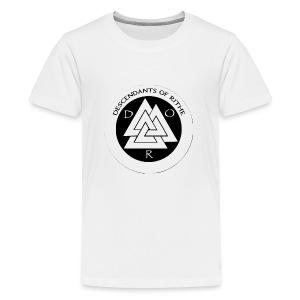 D.O.R WHITE - Kids' Premium T-Shirt