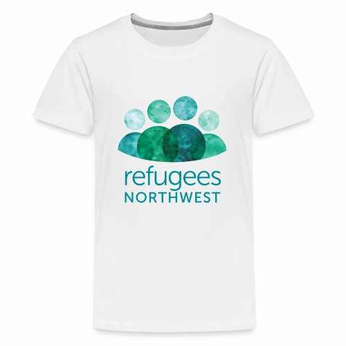 Refugees Northwest Logo Design - Kids' Premium T-Shirt