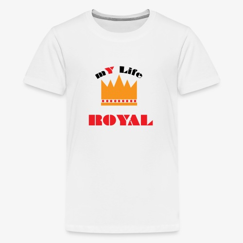 mYLifeROYAL - Kids' Premium T-Shirt