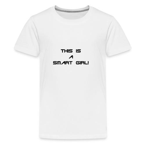 Den smarta Tjejen - Kids' Premium T-Shirt