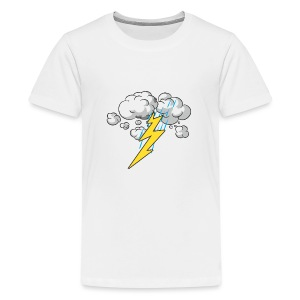 Thunder and Lightning - Kids' Premium T-Shirt