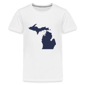 MI Michigan - Kids' Premium T-Shirt
