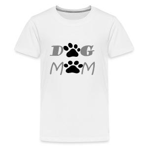 DOG MOM FUNNY T-SHIRT GIFT FOR MOM DOG LOVER - Kids' Premium T-Shirt
