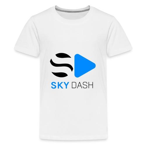 Sky Dash LOGO - Kids' Premium T-Shirt