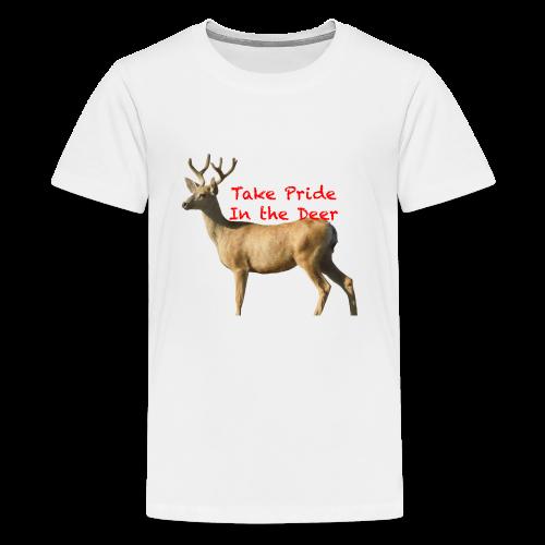 Take Pride in the Deer - Kids' Premium T-Shirt