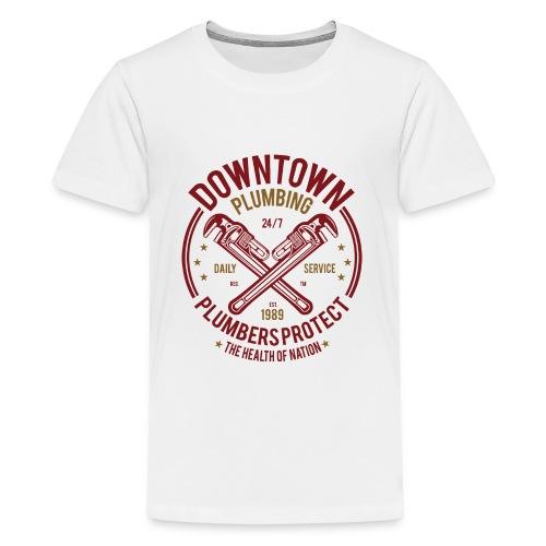 Downtown Plumbing - Kids' Premium T-Shirt