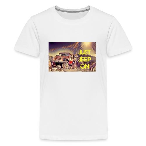 Jeepon1 - Kids' Premium T-Shirt