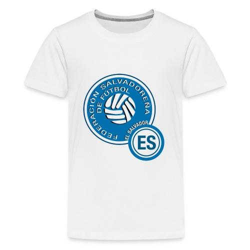 El Salvador National Soccer Team Logo - Kids' Premium T-Shirt