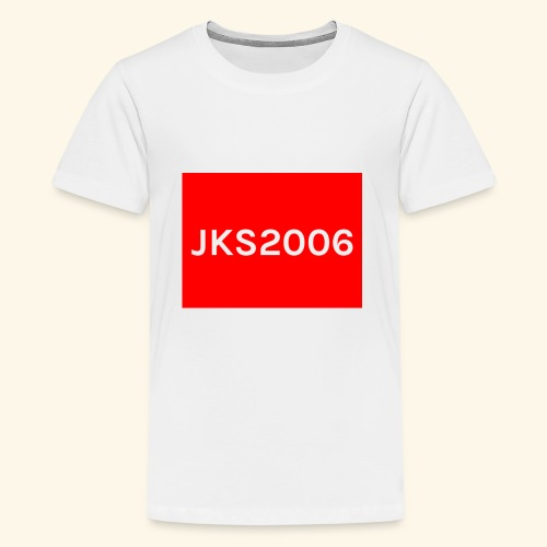 JKS2006 boxed logo - Kids' Premium T-Shirt