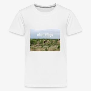 chad vlogs - Kids' Premium T-Shirt