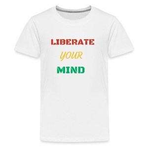 Liberate your mind clothing - Kids' Premium T-Shirt