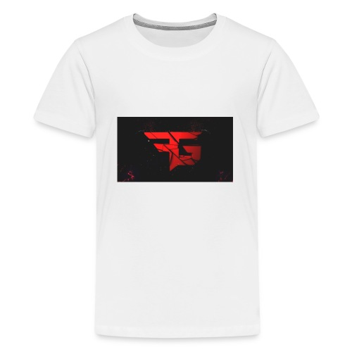 fg logo fibergaming by orjicreative da2uks4 - Kids' Premium T-Shirt