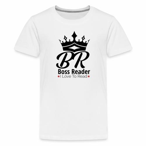 LADIES BOSSREADER CROWN - Kids' Premium T-Shirt