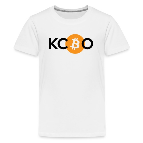 kcbo logo light - Kids' Premium T-Shirt