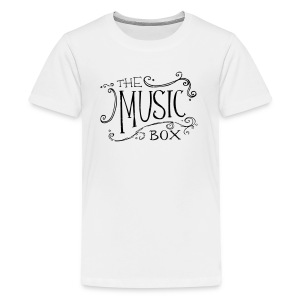 Black Music Box Logo - Kids' Premium T-Shirt