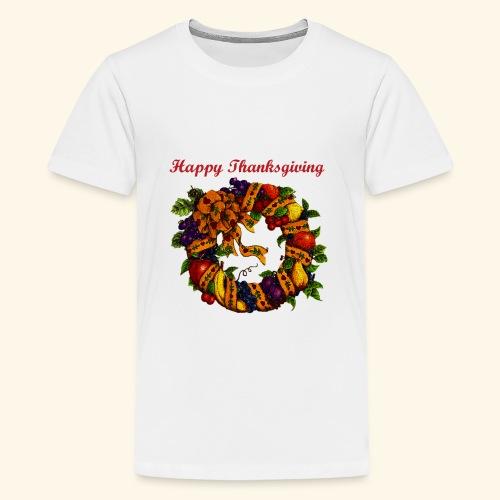 Happy Thanksgiving 1 - Kids' Premium T-Shirt