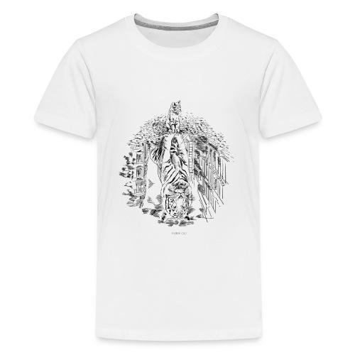 Hidden Tiger - Kids' Premium T-Shirt