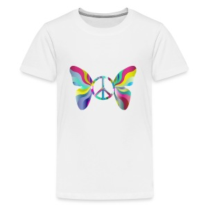 flying peace - Kids' Premium T-Shirt