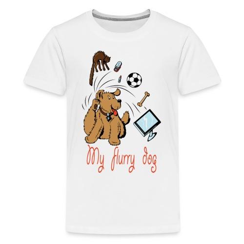 MY CUTE FURRY DOG PERFECT GIFT - Kids' Premium T-Shirt